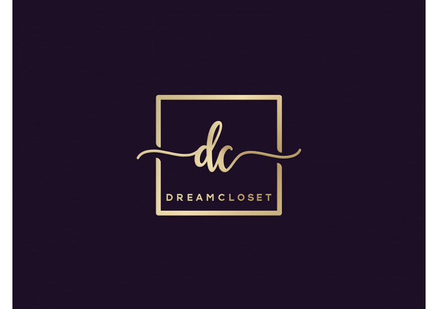 DreamCloset.net Logo yarışmasına Dyzyn tarafından girilen tasarım