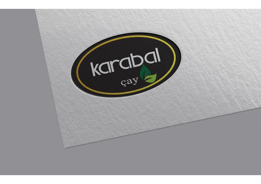 KARABAL ÇAY  LOGO TASARIMI ARIYOR yarışmasına nndesign tarafından girilen tasarım
