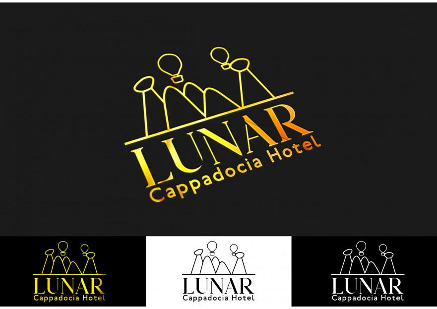 Kapadokya'da Hotel Logo ve Kurumsal Kiml yarışmasına ankagraphic tarafından girilen tasarım