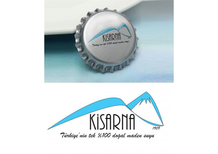 kisarna maden suyu için logo çalışması yarışmasına tasarımcı Cerenium tarafından sunulan  tasarım