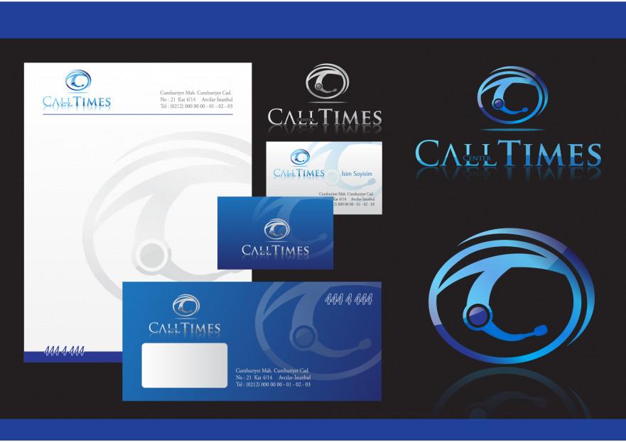 Çağrı merkezi için logo ve kimlik yarışmasına tasarımcı volkanKocaman tarafından sunulan  tasarım