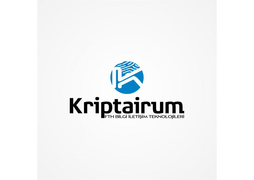 Kriptarium markası için logo yarışmasına tasarımcı CMT tarafından sunulan  tasarım