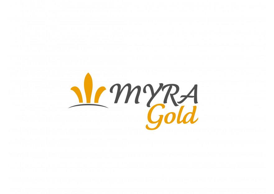 Myra Gold Kurumsal Kimlik Logosu yarışmasına TeZCaN tarafından girilen tasarım