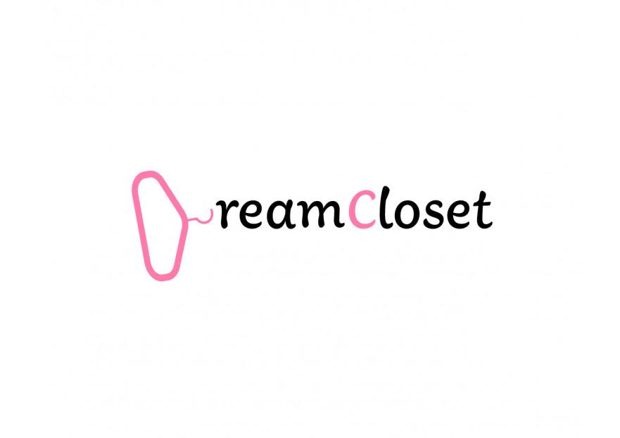 DreamCloset.net Logo yarışmasına tasarımcı zeynepmun tarafından sunulan  tasarım