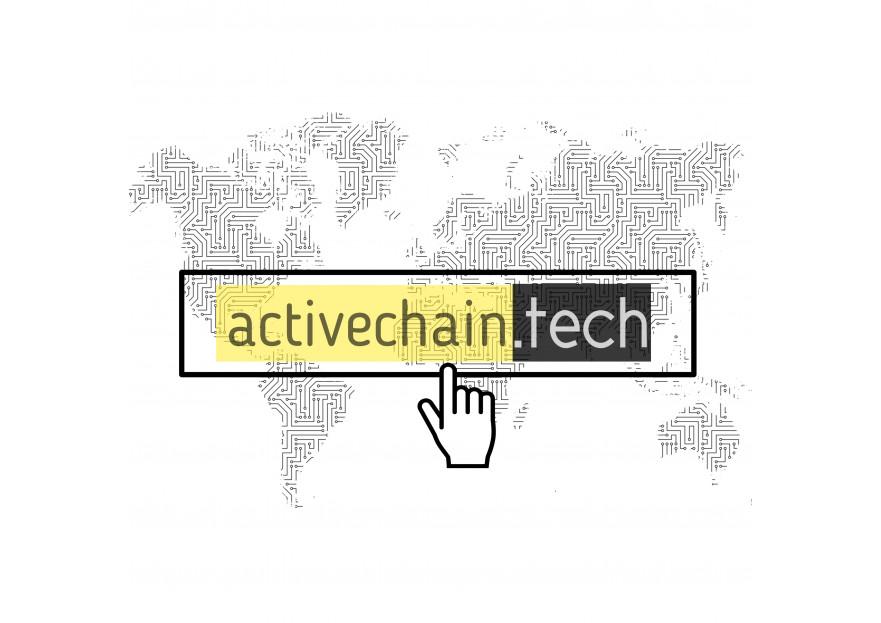 ActiveChain.tech Logo Yarismasi yarışmasına tasarımcı Grafiksel tarafından sunulan  tasarım