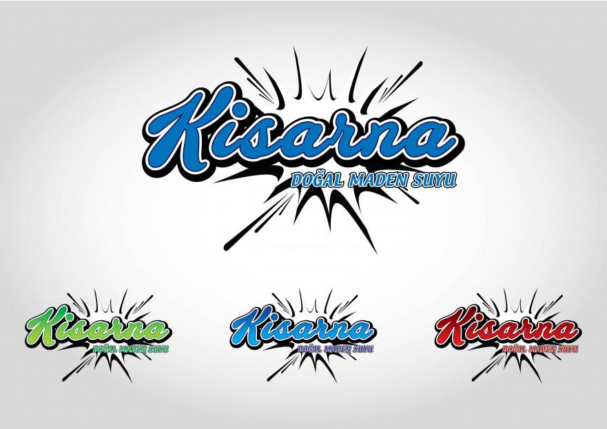 kisarna maden suyu için logo çalışması yarışmasına tasarımcı AyhaNN™ tarafından sunulan  tasarım