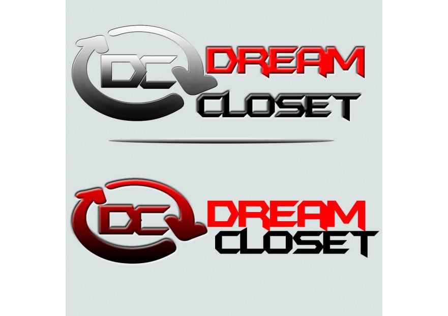 DreamCloset.net Logo yarışmasına tasarımcı X108 tarafından sunulan  tasarım