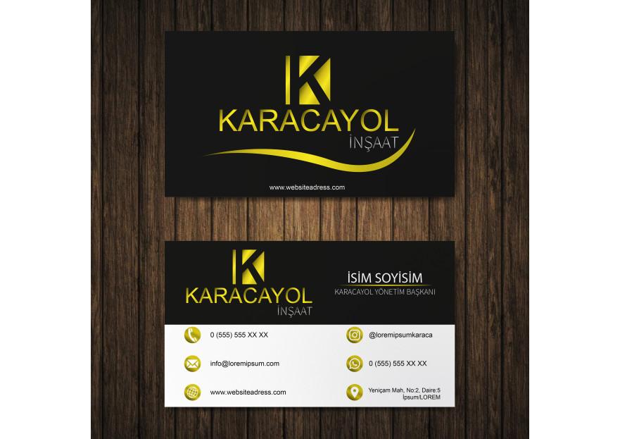 Firmamız için Logo ve Kartvizit tasarımı yarışmasına Elgom Design tarafından girilen tasarım