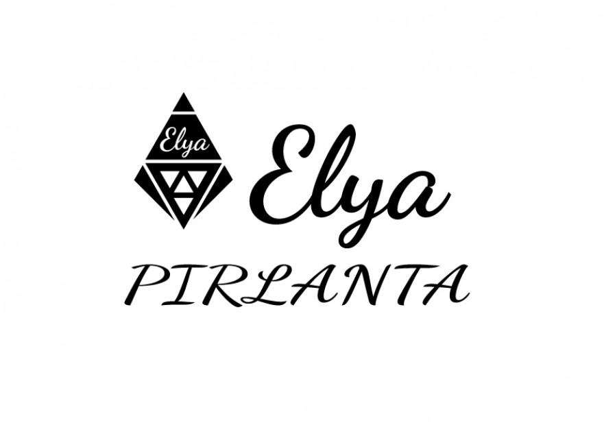 ELYA Pırlanta firması Logo tasarımı yarışmasına tasarımcı HitsPro tarafından sunulan  tasarım