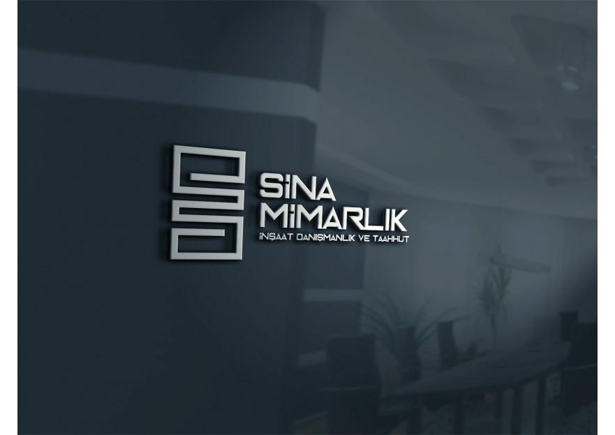 Sina Mimarlık Logosunu arıyor yarışmasına tasarımcı fikiradam tarafından sunulan  tasarım