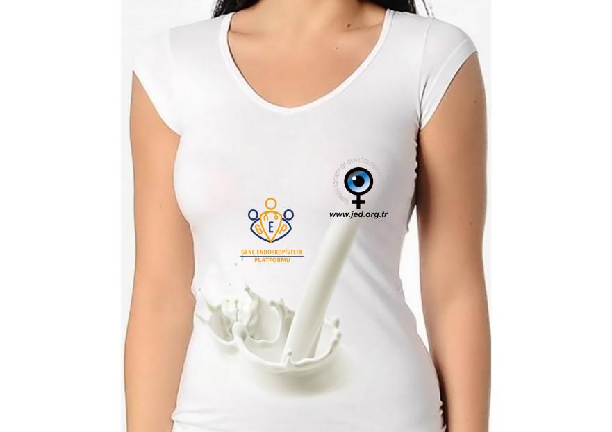 Endoskopistler için t-shirt tasarımı yarışmasına tasarımcı Green Cat tarafından sunulan  tasarım