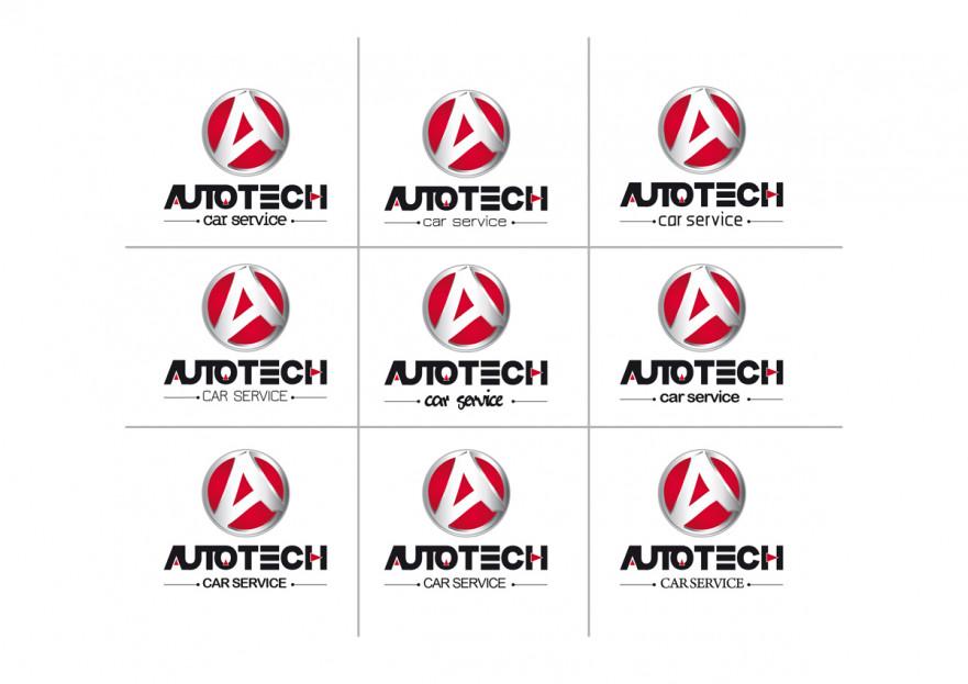 AUTOTECH CAR SERVICE Logo Tasarimi yarışmasına S.U(uvyz1243) tarafından girilen tasarım