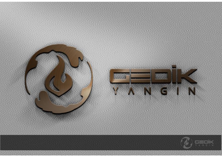 Yeni kurulan şirketimiz içini firma logo yarışmasına tasarımcı Kalem tarafından sunulan  tasarım