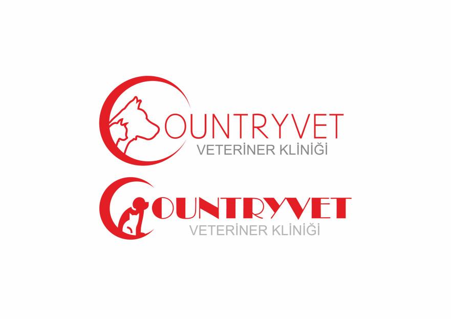 Veteriner Kliniği için özel bir logo yarışmasına aysedesign tarafından girilen tasarım