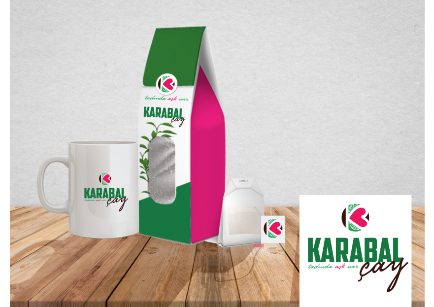 KARABAL ÇAY  LOGO TASARIMI ARIYOR yarışmasına Designer_NB tarafından girilen tasarım