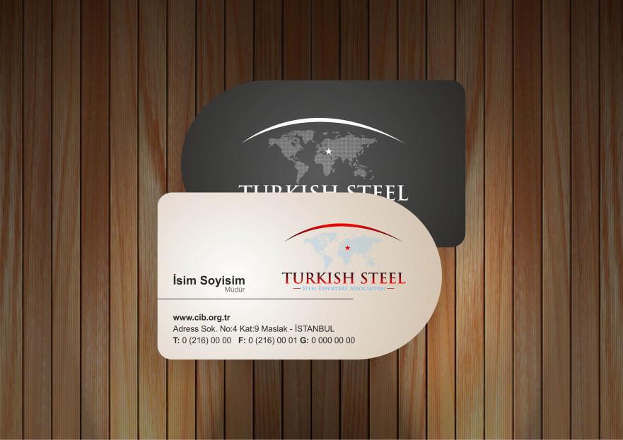 Çelik ihracatçıları birliği kurumsal  yarışmasına tasarımcı Ou Creative  tarafından sunulan  tasarım