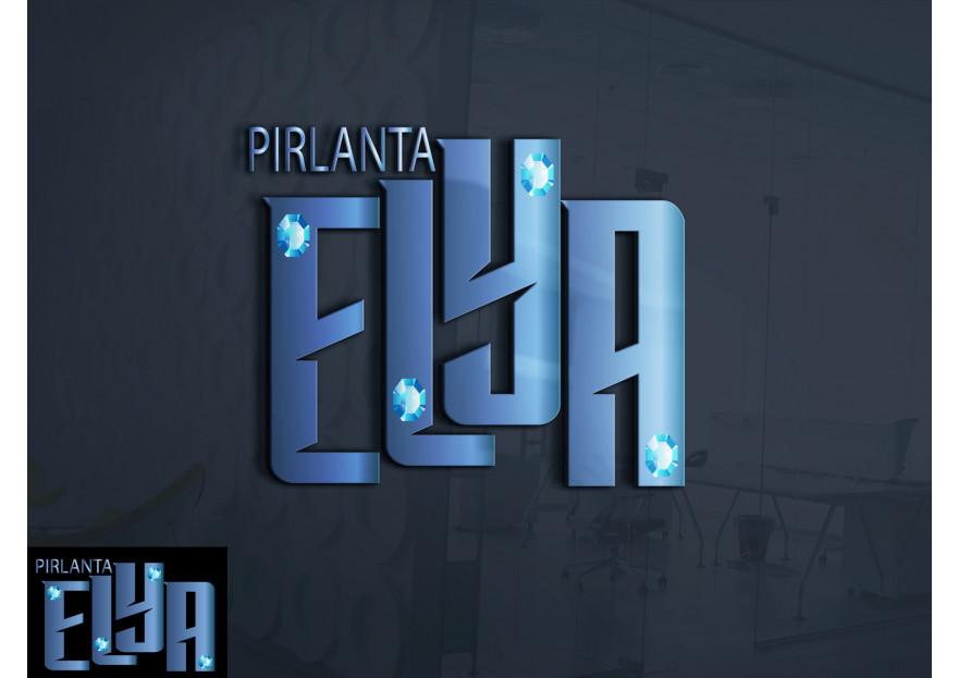 ELYA Pırlanta firması Logo tasarımı yarışmasına tasarımcı orhanaras tarafından sunulan  tasarım