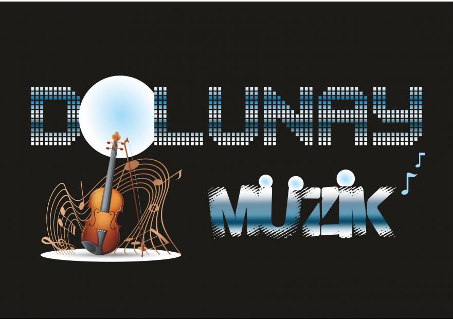 Dolunay Müzik yarışmasına blackdesign tarafından girilen tasarım