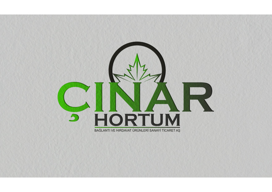 ÇINAR HORTUM LOGO VE KURUMSAL TASARIM yarışmasına tasarımcı mercan11 tarafından sunulan  tasarım