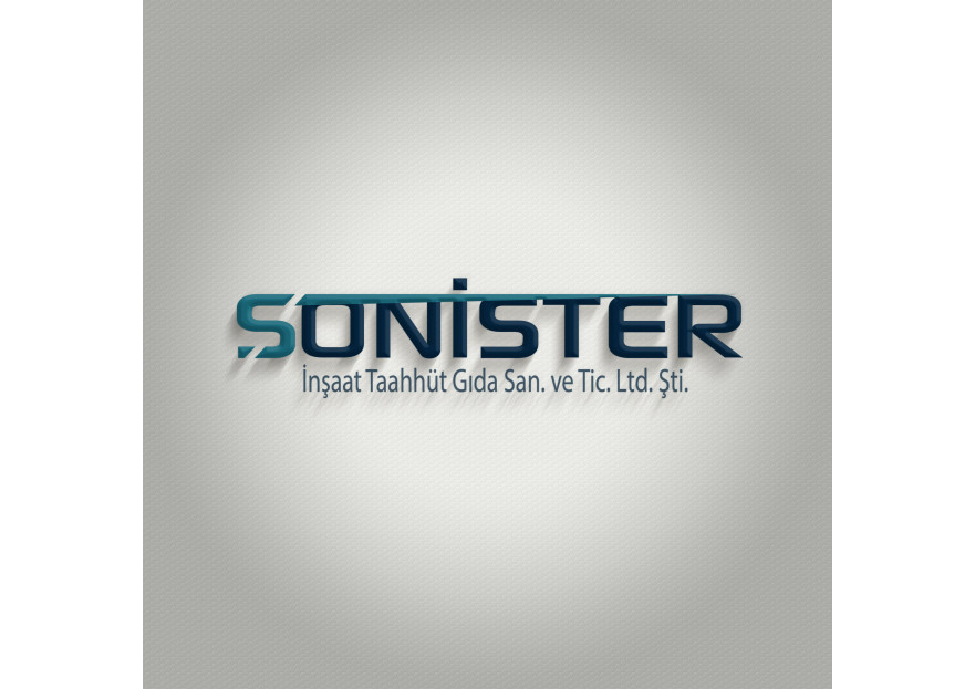 SONİSTER adlı inşaat firmasına logo  yarışmasına tubanur tarafından girilen tasarım