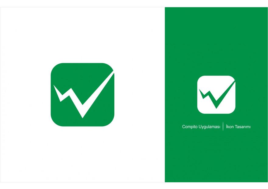 Uygulama İçin İkon Tasarımı yarışmasına tasarımcı nslhnkr tarafından sunulan  tasarım