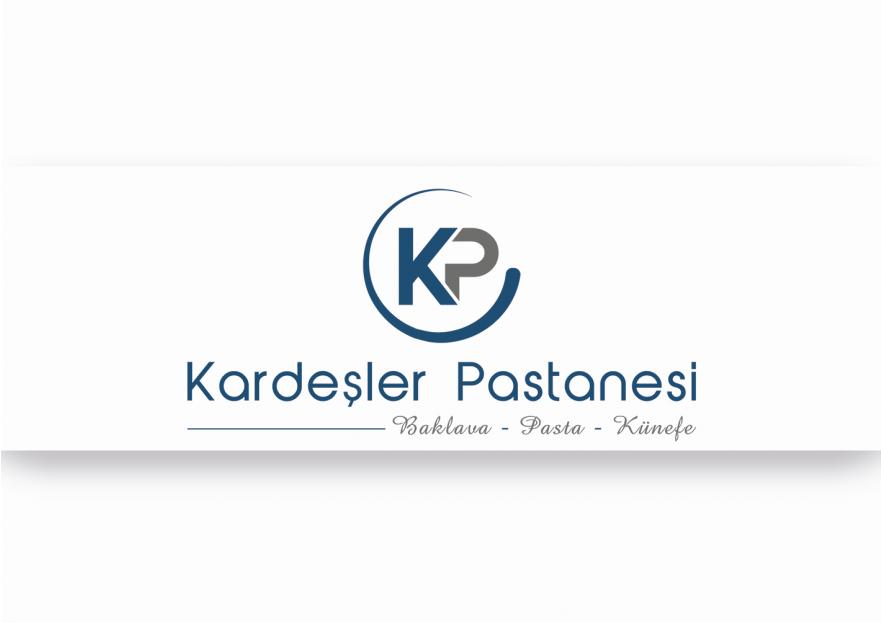 Kardeşler Pastanesi logu çalışması yarışmasına tasarımcı TP Grafik Tasarım tarafından sunulan  tasarım