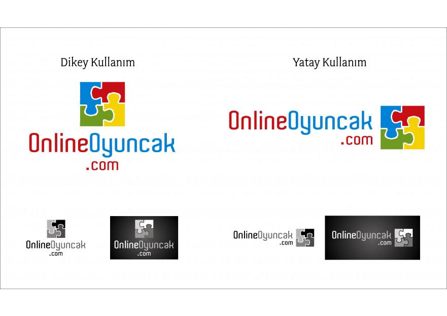 OnlineOyuncak.com Logo Tasarımı. yarışmasına tasarımcı girişimsel tarafından sunulan  tasarım
