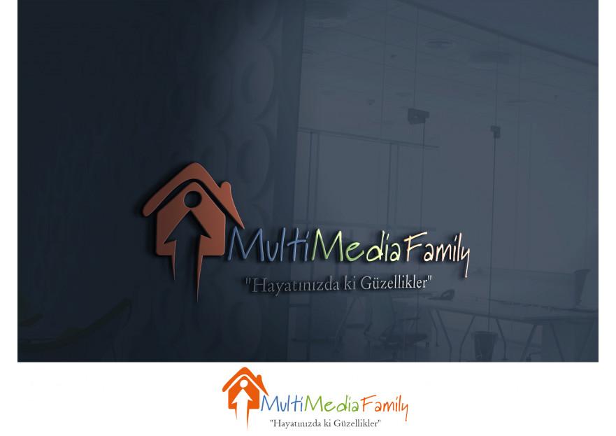 Aile temalı  web sitesi için Logo yarışmasına tasarımcı A.TalhaD tarafından sunulan  tasarım