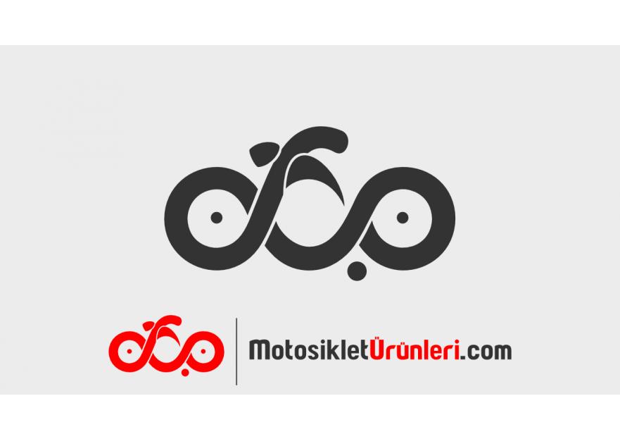 Motosiklet Ürünleri Logo Tasarım yarışmasına tasarımcı One tarafından sunulan  tasarım