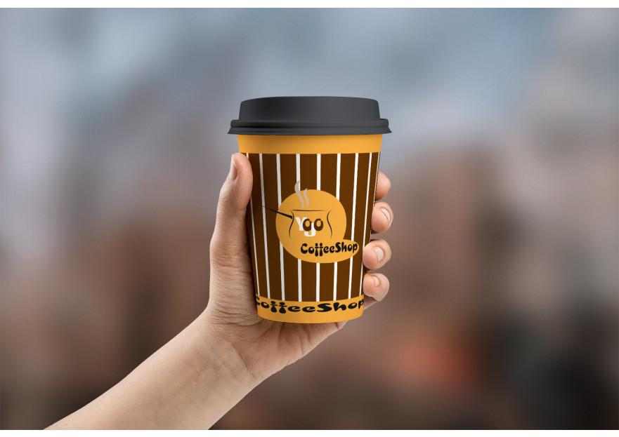 Kahveci Logosu yarışmasına tasarımcı muhammed aydın tarafından sunulan  tasarım