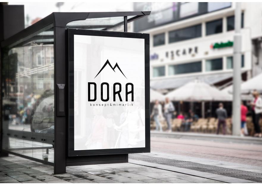 Dora Konsept Mimarlık Logosunu arıyor yarışmasına tasarımcı Tgyarc tarafından sunulan  tasarım
