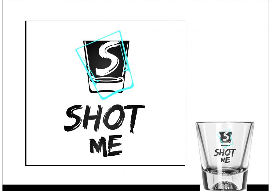 Shot Bar için logo tasarımı yarışmasına msk_ tarafından girilen tasarım