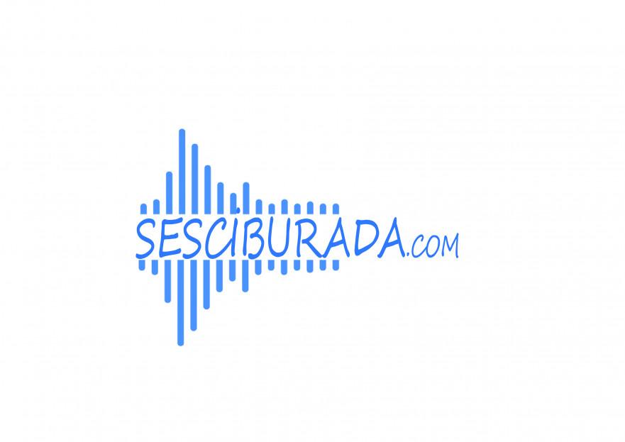 Sesciburada E-Ticaret sistemiz için logo yarışmasına tasarımcı asius tarafından sunulan  tasarım