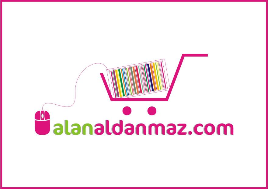 E-Ticaret Sitesi Logo Tasarımı yarışmasına merveinne tarafından girilen tasarım