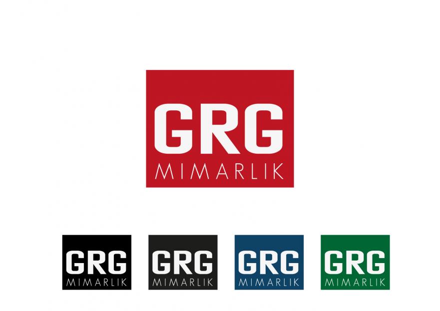 GRG Mimarlık logosunu arıyor yarışmasına tasarımcı Amasio Design tarafından sunulan  tasarım