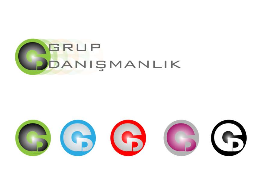 Grup Danismanlik (GD) Logo Tasarimi yarışmasına tasarımcı machinebrain tarafından sunulan  tasarım