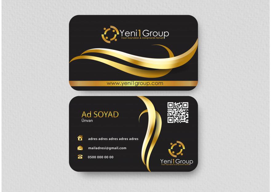 İnsan kaynakları için logo ve kartvizit  yarışmasına tasarımcı A.yustas tarafından sunulan  tasarım
