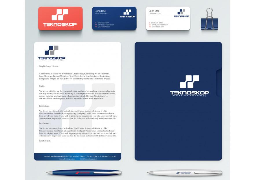 firmamız için kurumsal kimlik yarışmasına poison tarafından girilen tasarım