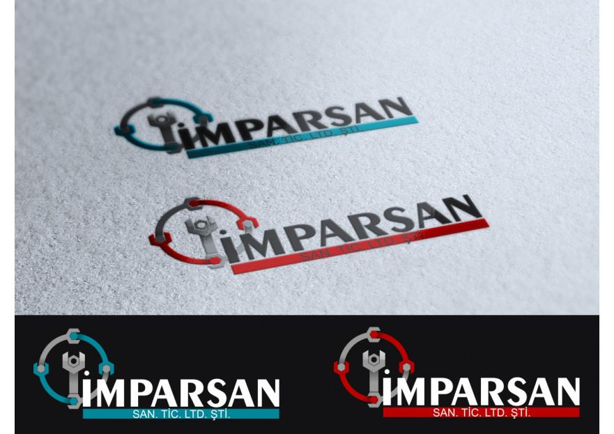 İMPARSAN SAN. TİC. LTD. Logo tasarımı yarışmasına tasarımcı Muss tarafından sunulan  tasarım