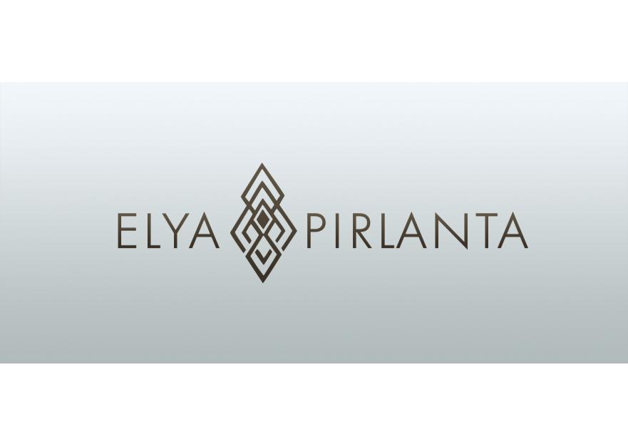 ELYA Pırlanta firması Logo tasarımı yarışmasına tasarımcı mertonses tarafından sunulan  tasarım