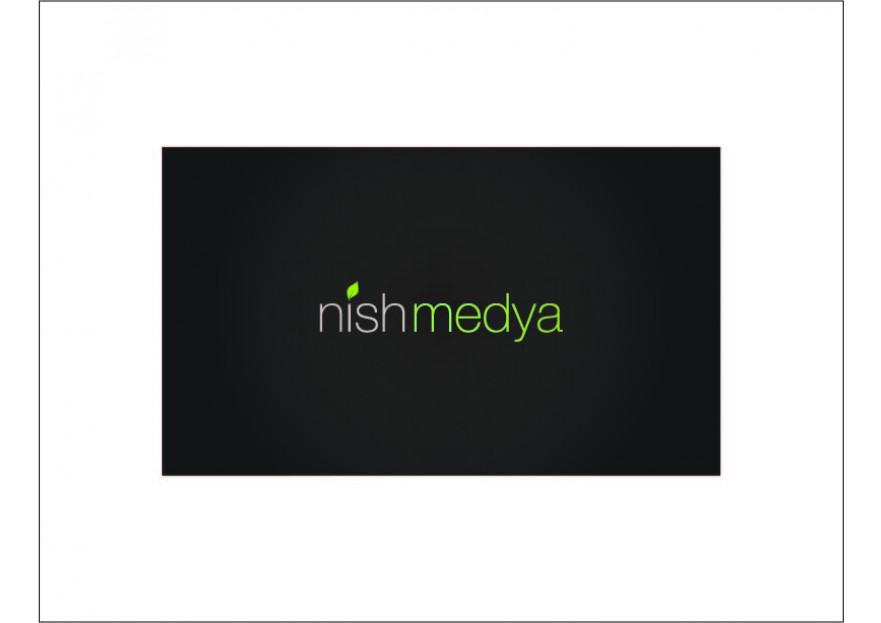 NİSH MEDYA LOGO YARIŞMASI yarışmasına tasarımcı sila_ tarafından sunulan  tasarım