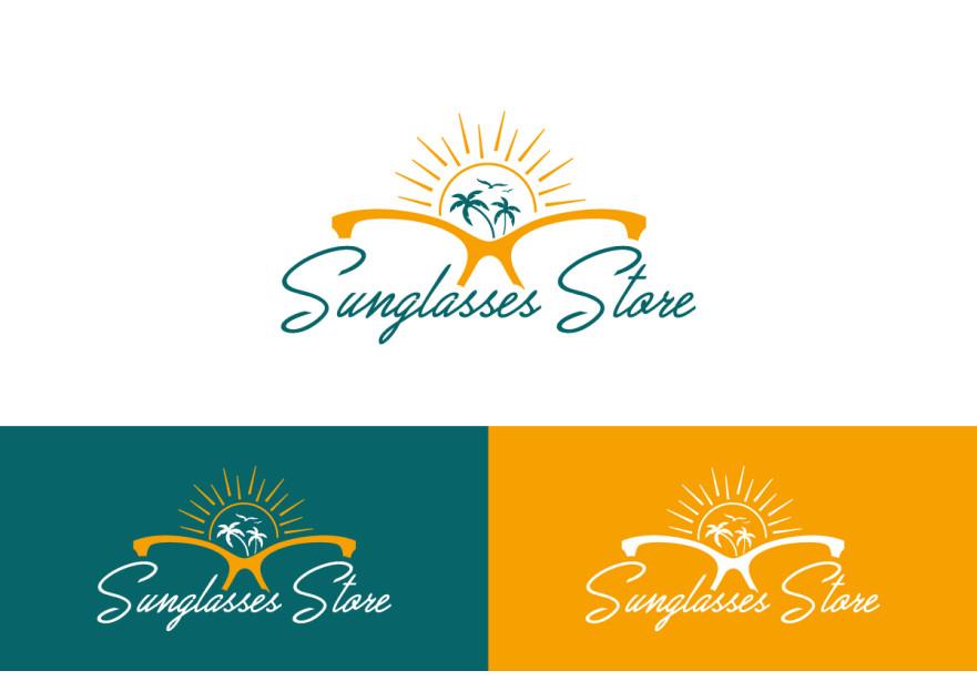 Güneş Gözlüğü Mağazası Logo Yarışması !! yarışmasına dilanbn tarafından girilen tasarım