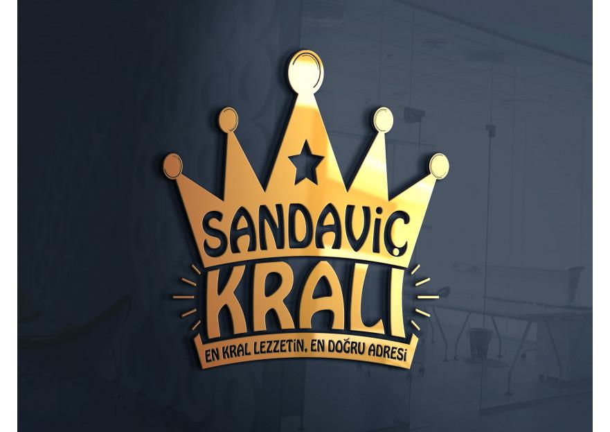 SANDAVİÇ KRALI LOGOSUNU ARIYOR yarışmasına DD Sanat™ tarafından girilen tasarım