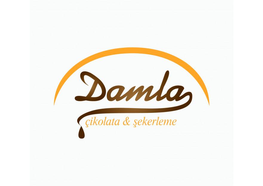 DAMLA Çikolata ve Şekerleme logo tasarım yarışmasına tasarımcı Eldarion tarafından sunulan  tasarım