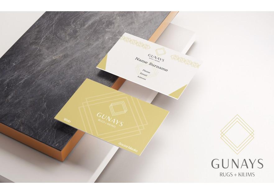 USA de bulunan dukkan icin kartvizit yarışmasına tasarımcı Logoritma tarafından sunulan  tasarım