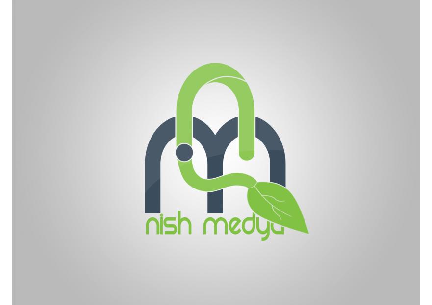 NİSH MEDYA LOGO YARIŞMASI yarışmasına tasarımcı NecatAyhan tarafından sunulan  tasarım