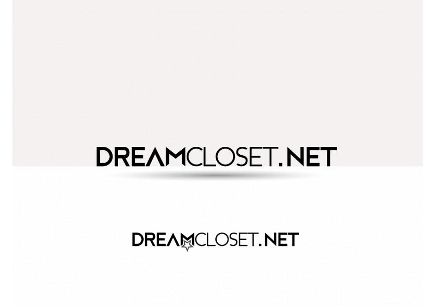 DreamCloset.net Logo yarışmasına tasarımcı synax26 tarafından sunulan  tasarım