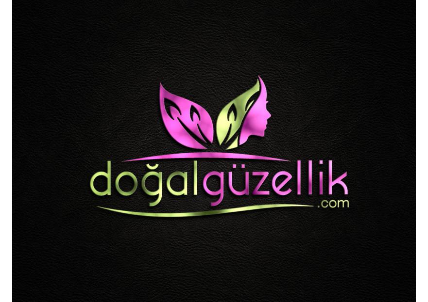 Doğalgüzellik.com alışveriş site logosu yarışmasına A. GÜLER tarafından girilen tasarım
