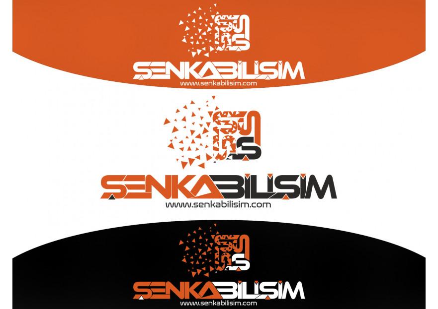 ŞENKA BİLİŞİM LOGOSUNU ARIYOR yarışmasına tasarımcı Grafiksir™ tarafından sunulan  tasarım