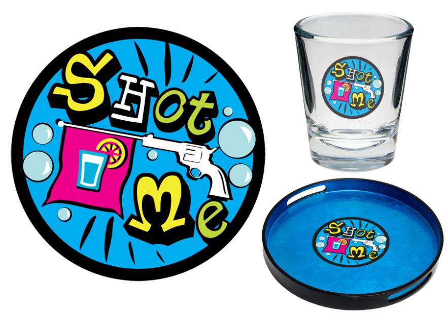 Shot Bar için logo tasarımı yarışmasına tasarımcı FT™ tarafından sunulan  tasarım